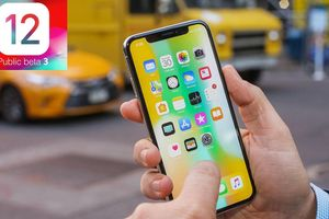 Apple phát hành bản cập nhật iOS 12 Public Beta 3