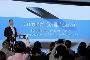 Corning ra mắt Gorilla Glass 6 rơi 15 lần không vỡ, sắp đưa lên Galaxy Note 9