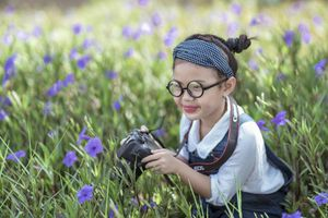 Bé gái Trà Vinh - nguồn cảm hứng bất tận của người mẹ đam mê chụp ảnh dạo