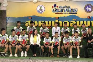 Đội bóng nhí ở Thái Lan nói về lí do mắc kẹt ở trong hang