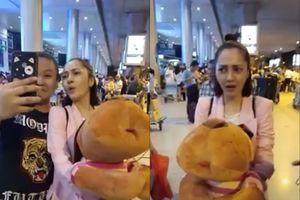 Bảo Anh 'khóc không thành tiếng' khi để mặt mộc ra sân bay bị Fan cố tình 'dìm' không thương tiếc