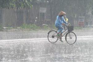 Miền Bắc và Bắc Trung Bộ mưa kéo dài đến ngày 21/7
