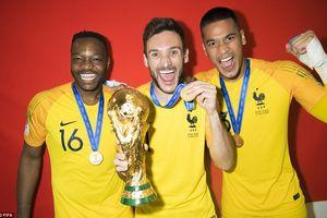 Thủ môn PSG vô địch World Cup nhưng chưa bắt phút nào cho tuyển Pháp
