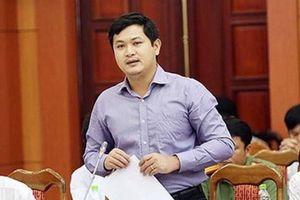 Miễn nhiệm hàng loạt chức danh của con trai cựu Bí thư Quảng Nam
