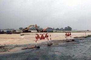 Nghệ An: Nhiều nơi 'chìm' trong biển nước, giao thông bị chia cắt cục bộ