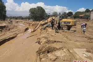 Trung Quốc: Lũ quét tại Cam Túc, hơn 50 người thương vong