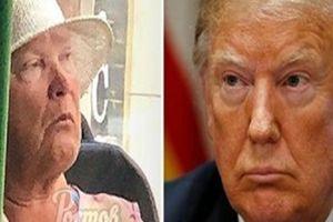 Bất ngờ phát hiện người giống Trump như lột đi xe buýt ở Nga?