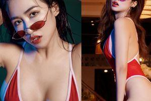 Gái độc thân DJ Trang Moon tung ảnh nóng 'chưa nâng cấp vòng 1'