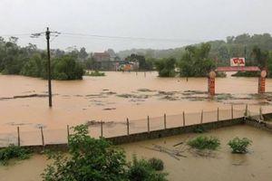 Lào Cai: Mưa lũ gây ngập lụt đến tận nóc nhà nhiều hộ dân