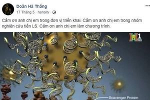 Bộ Y tế đề nghị đóng Facebook TS Doãn Hà Thắng quảng cáo nano vàng