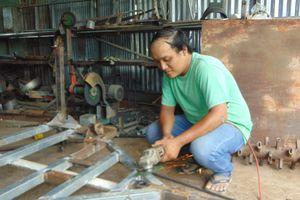 Kỹ sư 9X mê chế máy nông nghiệp