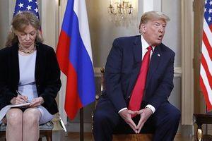 Tiết lộ nhân vật theo dõi toàn bộ những điều TT Trump nói với TT Putin