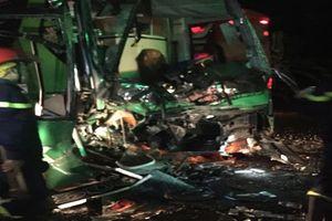 Tai nạn giữa 2 xe khách, nhiều hành khách bị thương