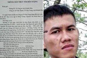 Công an Nha Trang truy tìm cựu cầu thủ Từ Hữu Phước
