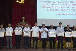 Huyện Ứng Hòa: Nỗ lực đổi mới toàn diện về giáo dục và đào tạo