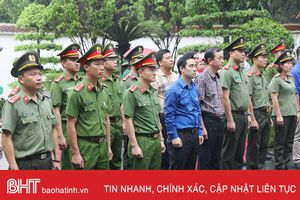 Tuổi trẻ Bộ Công an tổ chức hành trình tri ân Ngã ba Đồng Lộc