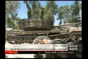 Quân đội Syria thu giữ vũ khí phe thánh chiến đầu hàng tại Daraa