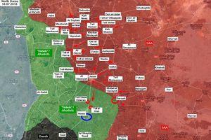 'Hổ Syria' thừa thắng giải phóng 3 cứ địa thánh chiến tại Daraa