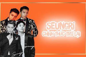 Sau 12 năm thăng hoa, fan trực trào nước mắt trước ngày Seungri (BigBang) phát hành… album đầu tay