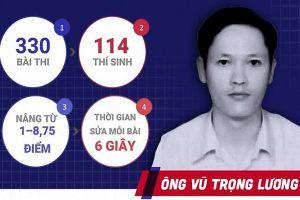 Nóng: Khởi tố, bắt tạm giam ông Vũ Trọng Lương sửa điểm thi ở Hà Giang