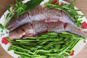 Lưỡi long nấu cá thửng