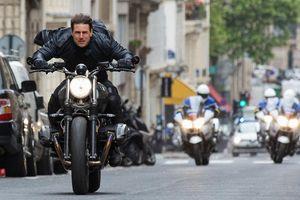 Không cần đóng thế, Tom Cruise có cảnh lái BMW rợn người trong Nhiệm vụ bất khả thi 6