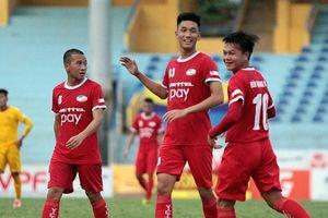 Vòng 13 Giải hạng Nhất Quốc gia:Hồi hộp 2 trận đấu sớm