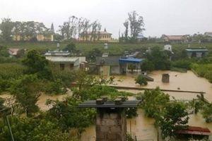 Nhiều nơi ở huyện Mộc Châu-Sơn La chìm trong biển nước