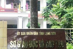 Phó chủ tịch tỉnh Lạng Sơn: Tôi mong muốn sớm có kết quả xác minh điểm thi