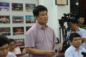 Họp báo công bố kết quả thẩm định điểm thi bất thường tại Lạng Sơn