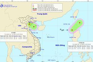 Bão Sơn Tinh 'tái sinh' kinh dị thành áp thấp nhiệt đới nguy hiểm