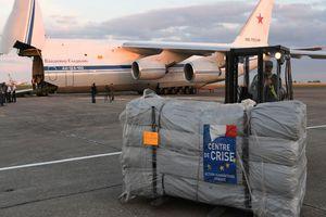 Pháp lần đầu tiên gửi viện trợ đến khu vực do chính quyền Tổng thống Syria Assad kiểm soát