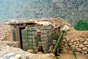 48 lính Nga tử chiến đánh bại hàng trăm tay súng thánh chiến trên biên giới Afghanistan