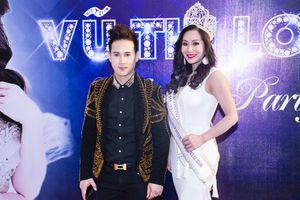 Nguyên Vũ xuất hiện bảnh bao trong đêm tiệc của Tân Hoa hậu Doanh Nhân Người Việt