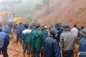 Tập trung khắc phục sạt lở, cứu dân bản ở Kỳ Sơn bị cô lập