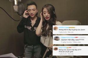 Jiyeon (T-ara) kết hợp Soobin hát tiếng Việt chuẩn đến khó tin: Phải cô ấy không vậy?