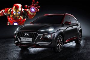Hyundai Kona bản đặc biệt Iron Man chính thức ra mắt