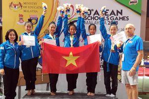 Đại Hội thể thao học sinh Đông Nam Á lần thứ 10: Bóng bàn, điền kinh, thể dục 'gặt' vàng