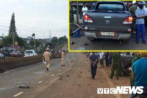 Gây tai nạn liên hoàn làm 2 người chết, tài xế ô tô bỏ trốn khỏi hiện trường
