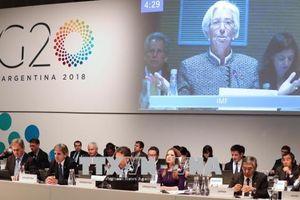 G-20 kêu gọi tăng cường đối thoại giảm căng thẳng thương mại