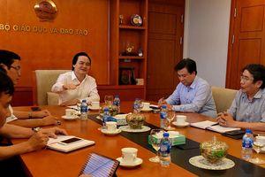Bộ trưởng Phùng Xuân Nhạ đề nghị các tỉnh phối hợp với Công an xử lý gian lận thi cử