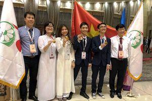 Việt Nam đoạt 3 Huy chương Vàng Olympic Sinh học quốc tế