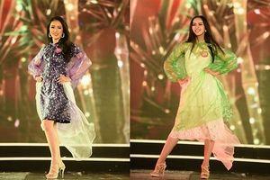 Khoác áo mưa tổng duyệt chung khảo phía Bắc, thí sinh Hoa hậu Việt Nam vẫn vô cùng cuốn hút