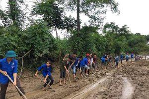 Nghệ An: Khẩn trương khắc phục hậu quả mưa lũ