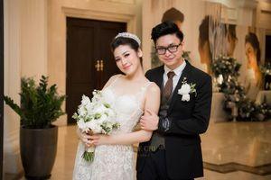 Tú Anh thay 3 bộ trang phục cưới lộng lẫy trong ngày trọng đại