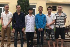 6 thanh niên mò vào công trường đường cao tốc trộm gần 4 tấn sắt