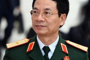 Thiếu tướng Nguyễn Mạnh Hùng làm Bí thư Ban cán sự Đảng Bộ TTTT