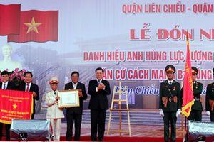 Căn cứ cách mạng B1 Hồng Phước Quận Nhì đón Danh hiệu Anh hùng lực lượng vũ trang nhân dân