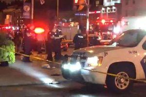 Ảnh, video: Xả súng trong đêm ở Canada, nhiều người bị thương