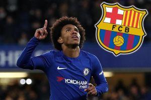 Vượt mặt M.U, Barcelona đạt thỏa thuận với Willian